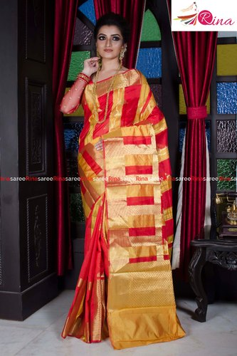 Monica Check Saree