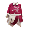 Pink & White Baby Girls Kids Fancy Dress