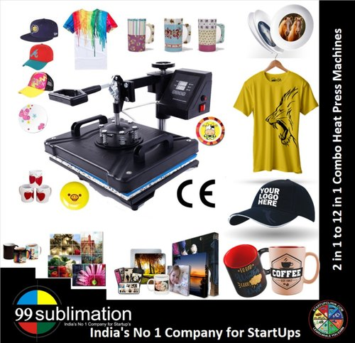 99 Sublimation 5 In 1 Combo Heat Press Machine For t Shirt