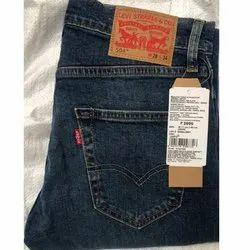 Comfort Fit Denim Men Jeans, Waist Size: 28