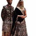 Heavy Embroidered Designer Bridal Wear Lahenga Choli Designs