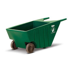 Hand Cart For Waste Collection With Wheel