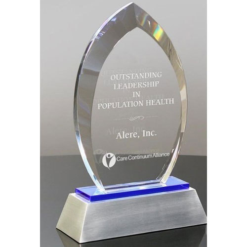 Crystal Leadership Award Trophy