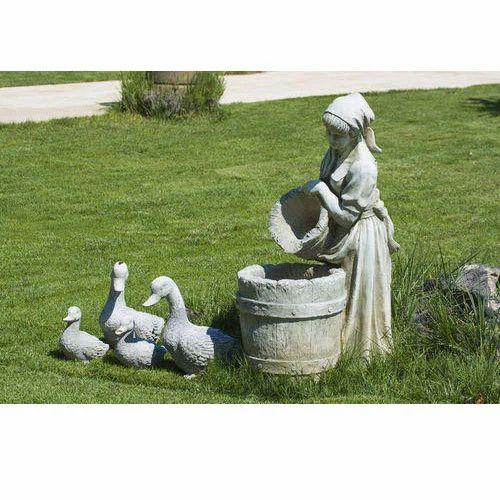 Concrete Garden Sculpture
