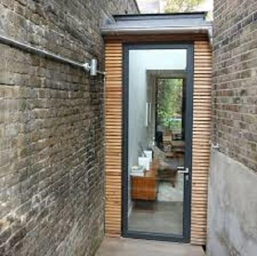 Aluminium Casement Door, Thickness: 5 Mm To 24 Mm