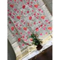 Designer Handloom Cotton Silk Ethnic Embroidery Saree