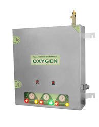Fully Automatic Gas Control Panel - Analog, Model - SADDLE VALVE