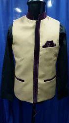 White Designer Vest Coat