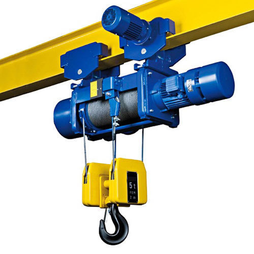 Abus And Demag Electric Wire Rope Hoist  Capacity  6