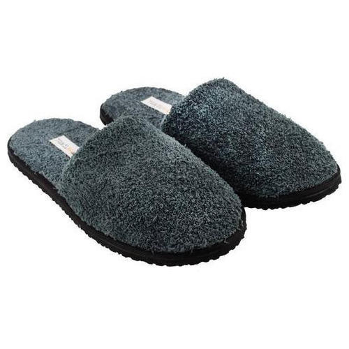 7cc50e60a09a23 Travelkhushi Dark Grey Unisex Indoor Slipper