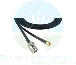 RF Cable Assemblies N Female To RP SMA Male In LMR 200