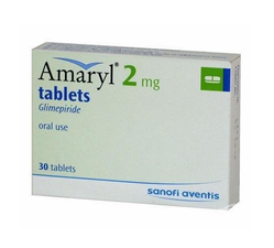 Amaryl Glimepiride Tablet