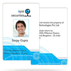 Corporate Barcode ID Card Printing Service