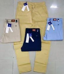 Plain Mens Branded Chinos