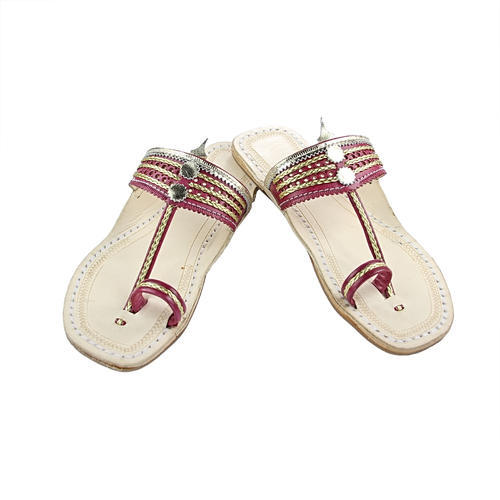 21b216522af2 Leather Ladies Kolhapuri Chappal, Size: 5 To 10, Rs 650 /pair | ID ...