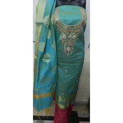 Cotton Silk Banarasi Suit