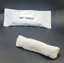 Wet Cotton Towel