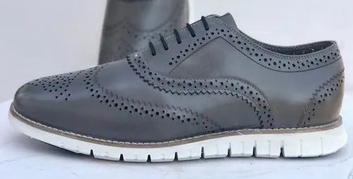 Pristino Leather Brogue Shoe for Mens