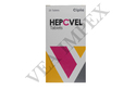 Hepcvel Tablets ( Sofusbuvir 400 mg Velapatasvir 100 mg Tablets )