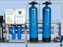 1000 LPH FRP Commercial Reverse Osmosis Plant