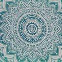 Ombre Floral Cotton Doona Quilt Floral Duvet Cover