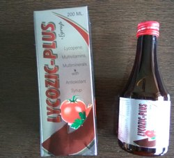 Lycopene , Multivitamins & Multiminerals Syrup