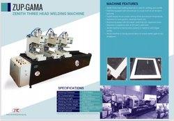 Three Head UPVC Welding Machine