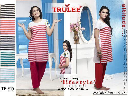 Trulee Full Length Ladies Night Dress f46bdaa7a