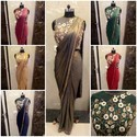 Handmade Party Wedding Saree Gown