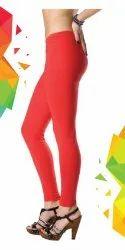 Akoraj Plain Ladies Cotton Churidar Legging