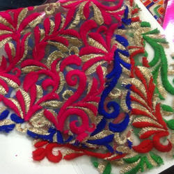 Embroidered Fancy Fabric