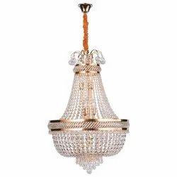Crystal LED Jaquar Celeste Tiered Candle Hanging Chandelier