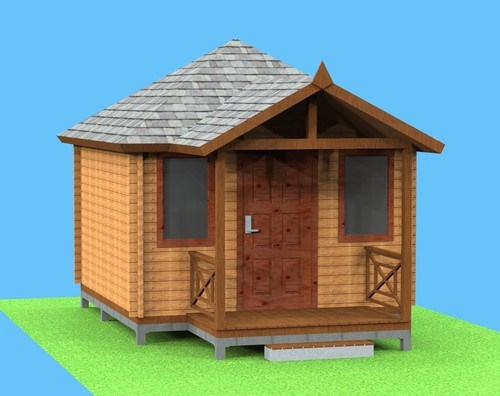Prefab Wooden Homes, New Delhi - Manufacturer of Terrace House and