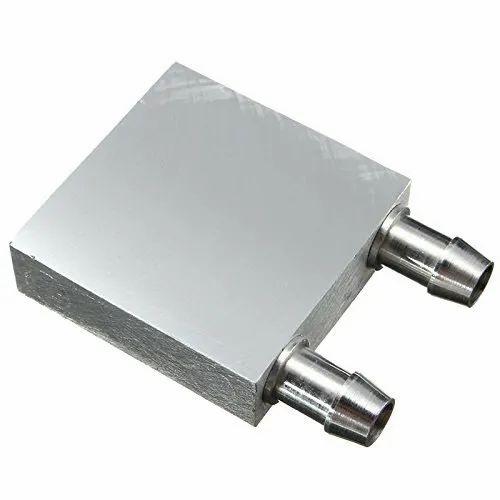 CentIoT - Silver - Aluminum Water Cooling Block 40x40x12mm Liquid ...
