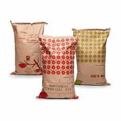 Printed PP Rice Packaging Bag