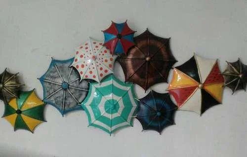 E Decor India Iron Decorative Metal Umbrella Wall Decor   ID ...