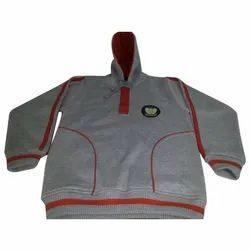 Grey School Uniform Fleece Jacket