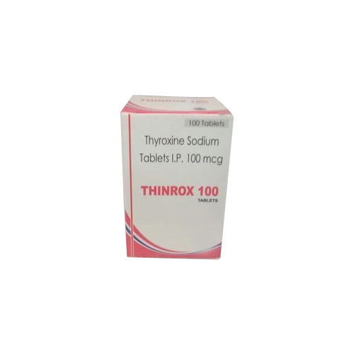 Thyroxine Sodium Tablets Ip 100 Mcg Packaging Type Box Rs 45