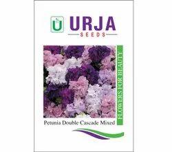 Petunia Dbl. Cascade Mxd Seeds