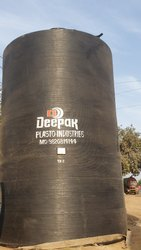 Spiral HDPE Vertical Chemical Storage Tank