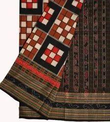 South Cotton weave sambhalpuri cotton saris, With Blouse