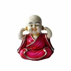 Fiber baby Laughing Buddha Statue, For Decoration