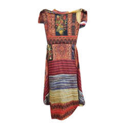 Ladies Cotton Half Sleeve Ethnic Kurti