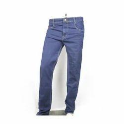 Blue Mens Plain Jeans