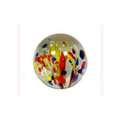 Rainbow Glass Paper Weight