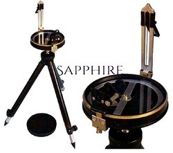 Sapphire Analog Full Brass Prismatic Compass, Packaging Type: Pvc Case And Corrugated