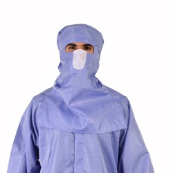 Antistatic Non Linting Hood Clean Room Garments for Food Head Protective chemical