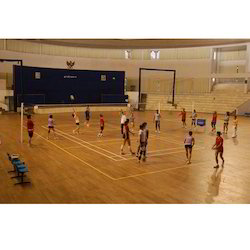 UK & Australia Indoor Volleyball Wooden Court Flooring