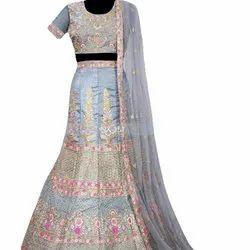 Designer Silk Bridal Wedding Lehenga Choli