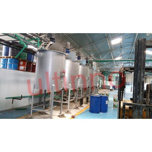 Chemical Mixing Blending Tank - Blending and Mixing Vessel